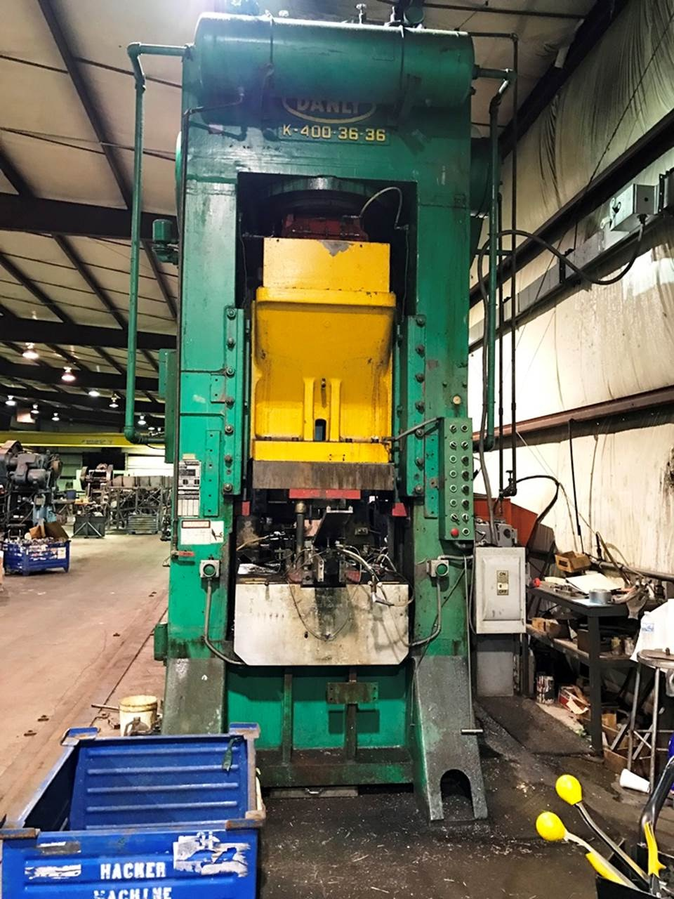 Used Presses Complete Stamping Line & Blanking Line