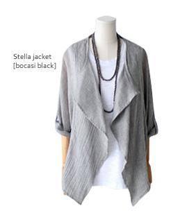 linen cool jacket