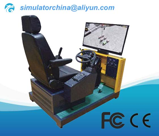 Mobile crane training simulator