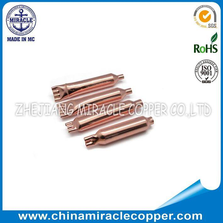 Refrigeration Copper Filter Drier two-way three-way