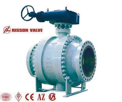API trunnion mounted type ball valve/valves