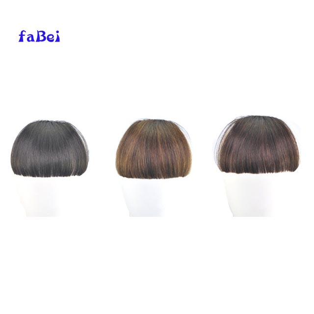 Hot human hair bangs fringe clip in bang hair fringe