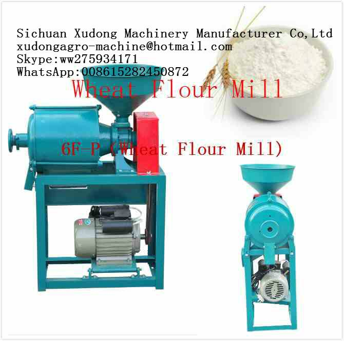 Home Use Wheat Flour Mill