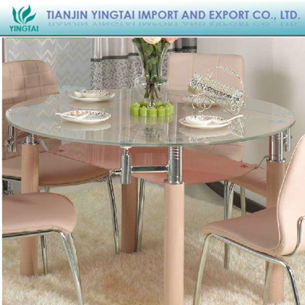 Nice China made glass dining table