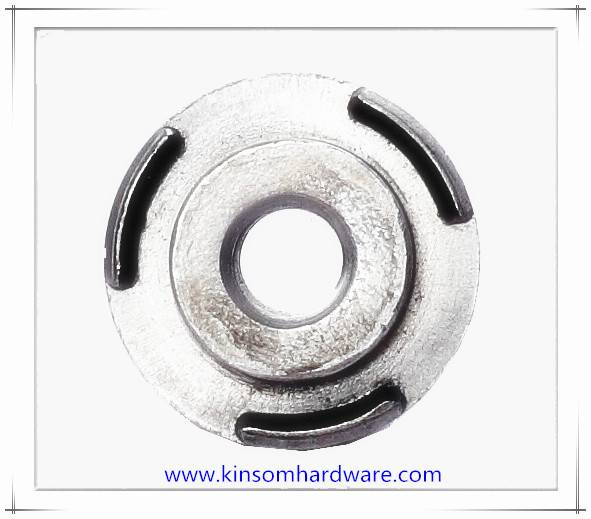 Special pilot 3 projection round weld nuts with high welding carbon Steel C1010
