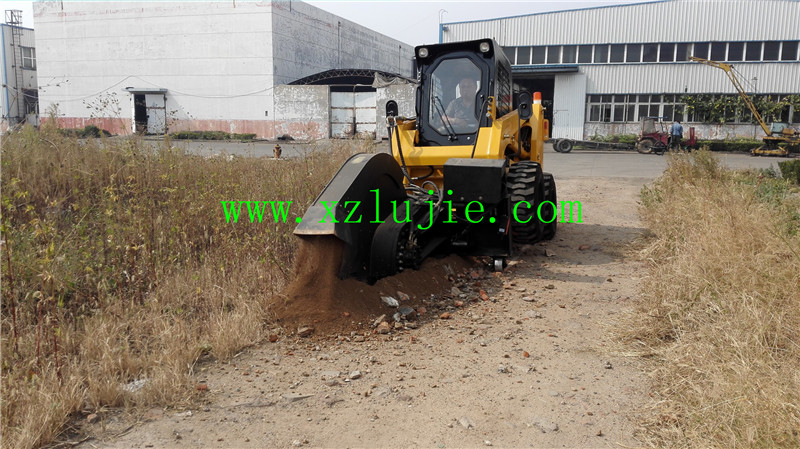 China skid loader rock saw attachment