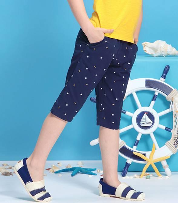 Children's summer shorts men's sports pants thin section