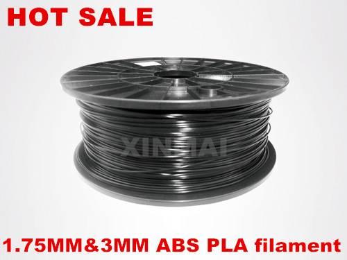 1kg(2.2lb) spool 1.75mm 3.0mm ABS PLA plastic rods 3D filament