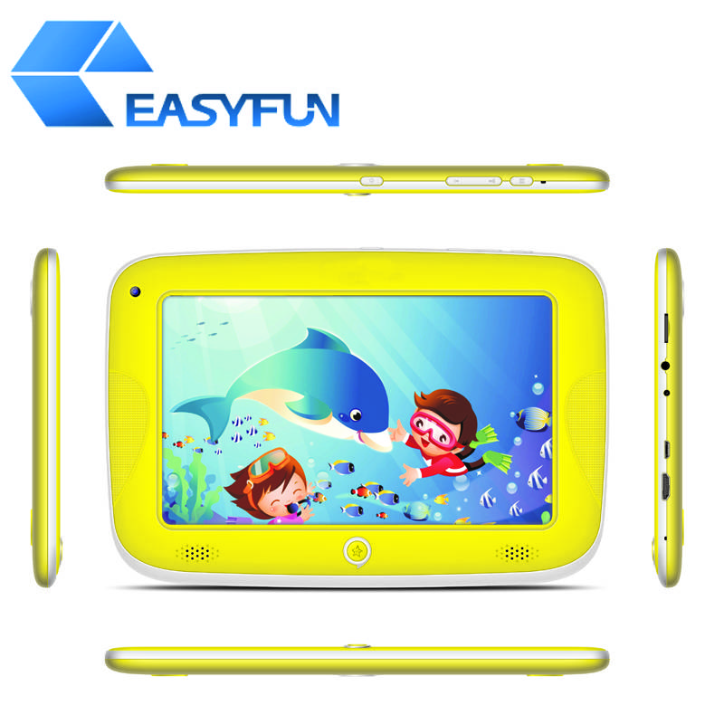 7 inch Kids/Children Tablet PC/MID RK3168+ Android 4.2 5-point touch Dual camera