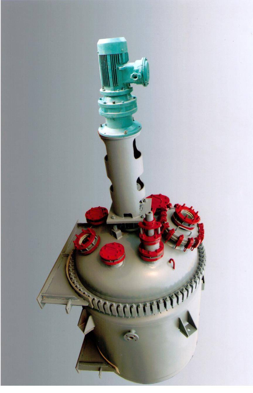 glassline reactor with motor,stirrer,mechanical seal