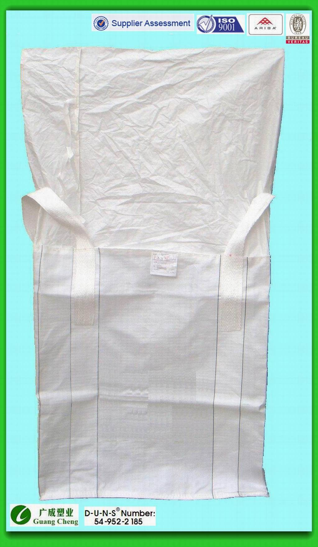 1 Ton Big Bag or FIBC or Bulk Bag for for building material with documents any choosen color