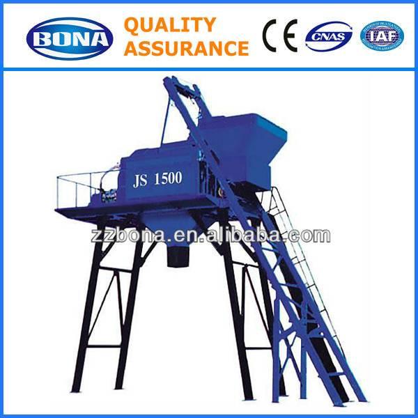 JS1500 large ready-mix concrete mixing machine