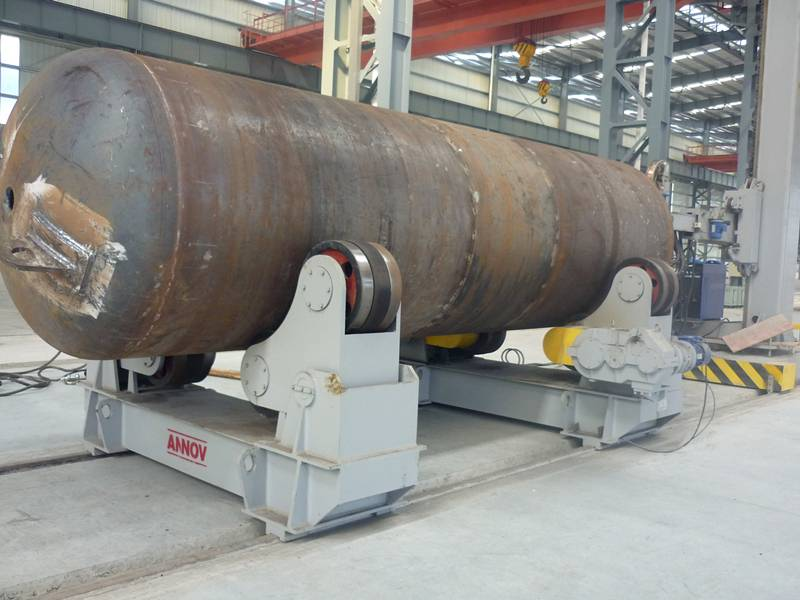 Double Drive Self-Aligning Walking Welding Turning Roll