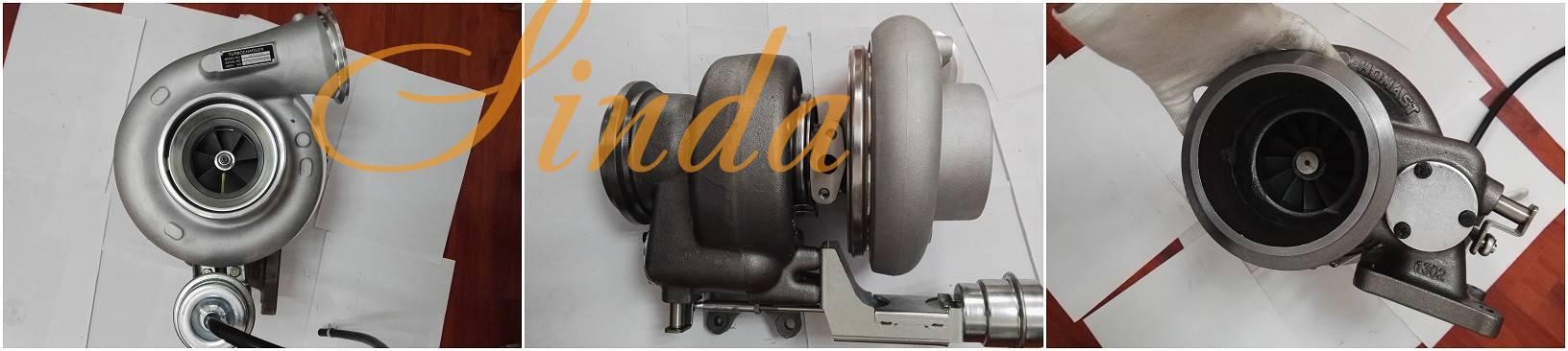 Diesel turbocharger HX55W 4046127 for Cummins ISX engine