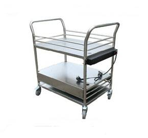 Rolling medical equipment cart RCS-H0P1