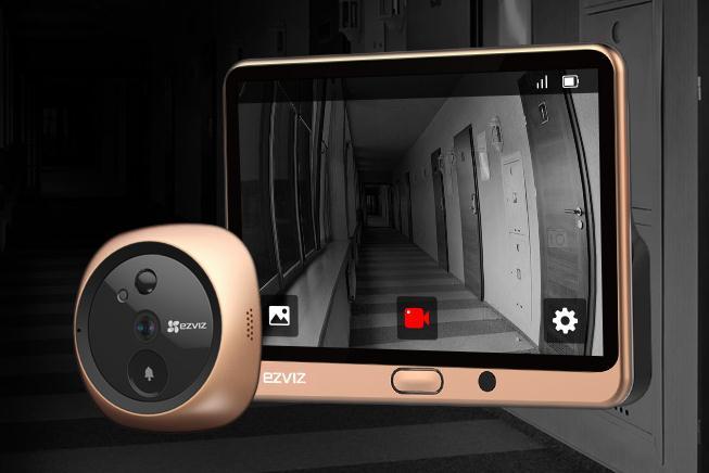 Intelligent peep hole camera