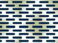 Level Oblong Holes Perforated Mesh