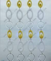 Mixed round circle beading strands for wedding arrangement