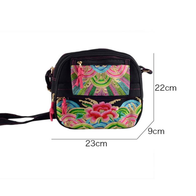 bali handmade ethnic embroidery china cloth tribe thai tribe handbag woman messenger bags