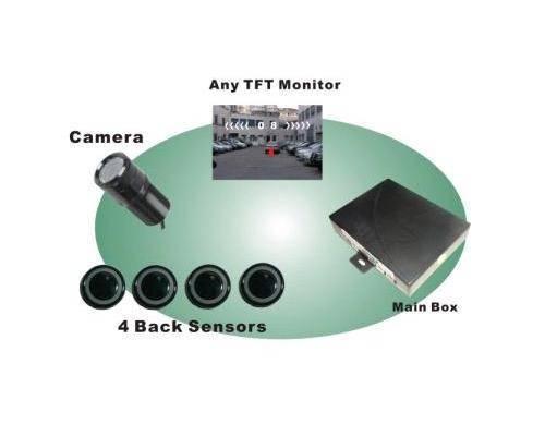 Video Parking Sensor with Back Up Camera