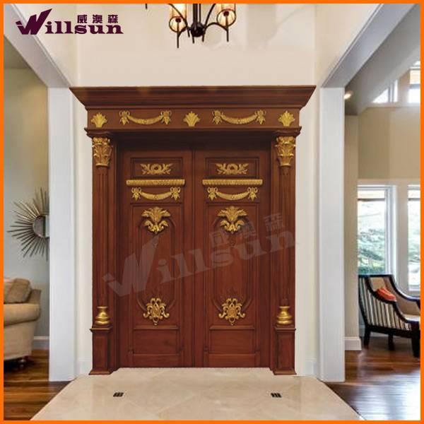 2014 Natural Elegant And Luxury solid wood door