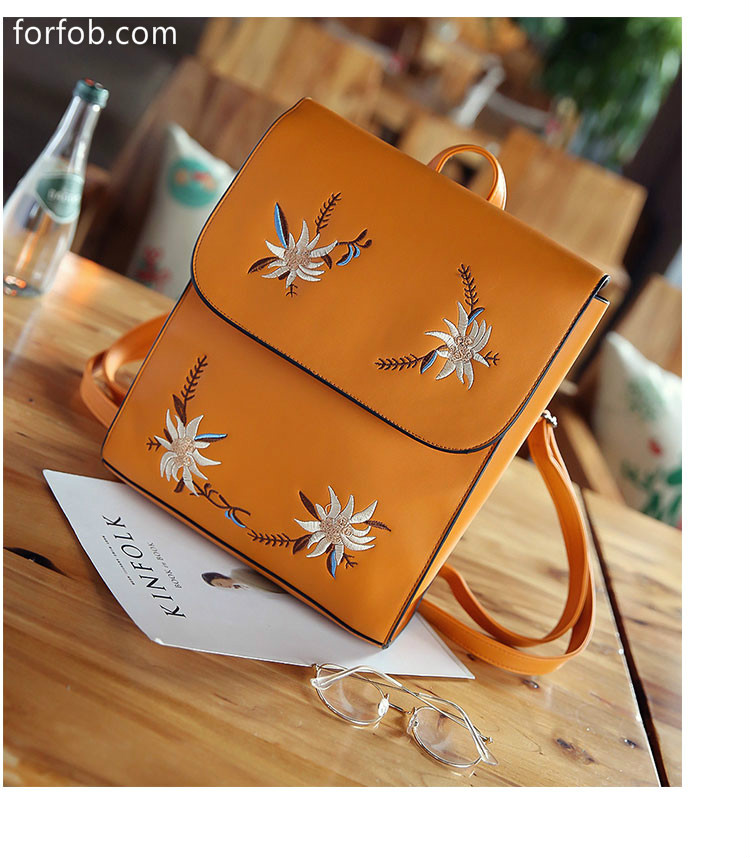 For Young Women And Ladies Bag Pu Leather Backpack