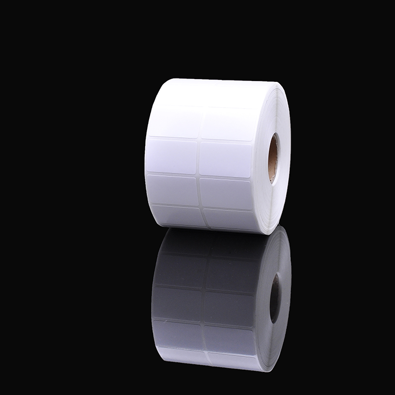 Self Adhesive Packaging Roll Sticker, Custom Direct Thermal Paper Labels 60 x 40mm