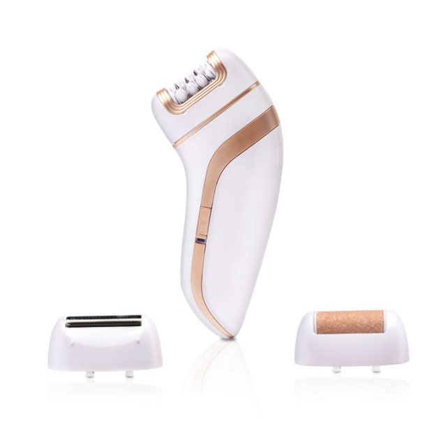 3 in 1 multifunction lady shaver, epilator and exfoliater