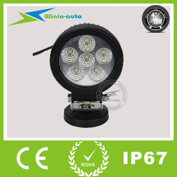 4 18W LED Driving lights for ATV SUV 1150 Lumen WI4181