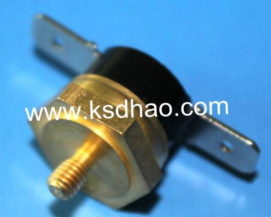 Thread copper head thermostat, Thread copper head thermal protector