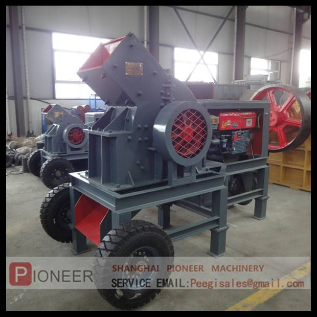sell PCC400x600 diesel jaw crusher