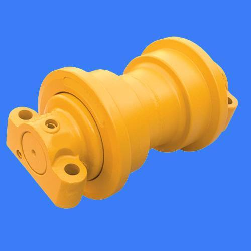 Track roller for excavator and bulldozer
