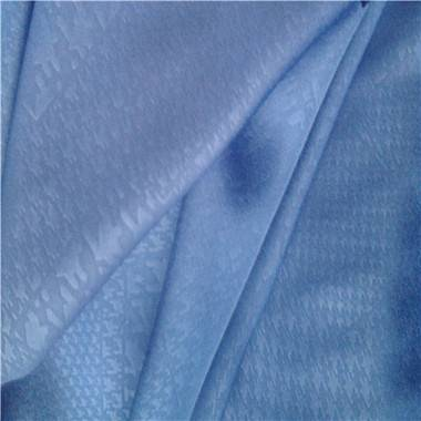Faille Crepe, Embossing, 100% Polyester Fabric/Soft and Drapability/Used for Dress/Curtain/Garments