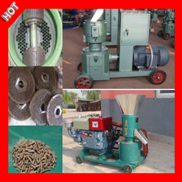 Low Consumption Small Wood Pellet Mill