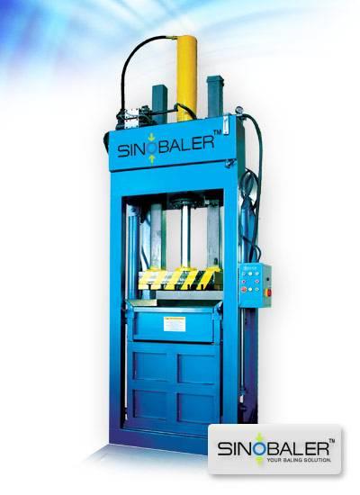 Lifting Chamber Baler, Textile baler Sinobaler Baling Machines