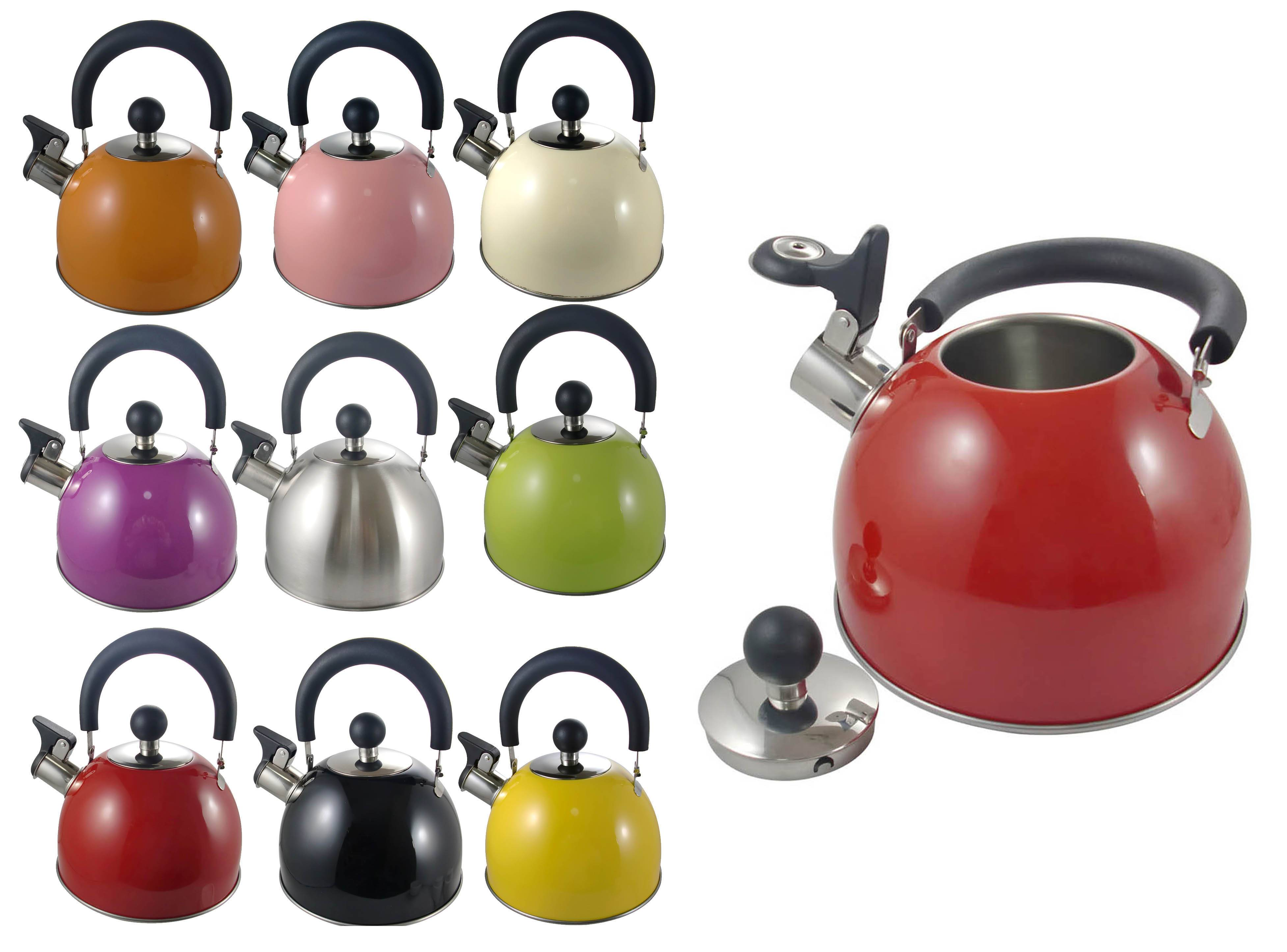 1.5L stainless steel whistling kettle