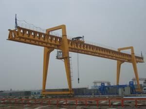 gantry crane 20t to lift precast girders