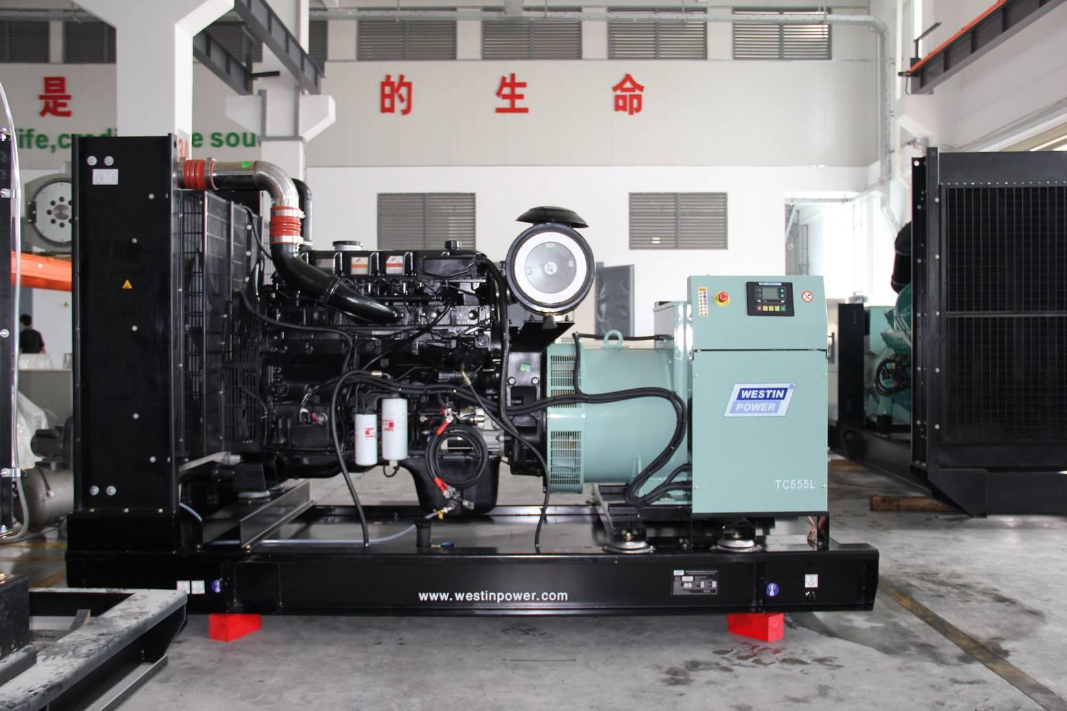 Diesel generator set (TC555L)