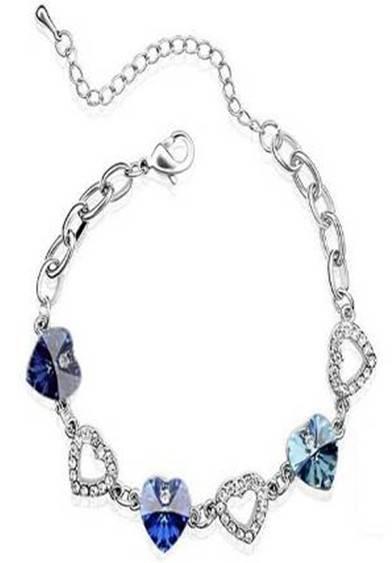 Sell White K Plated Rhinestone Bracelet,jewelry