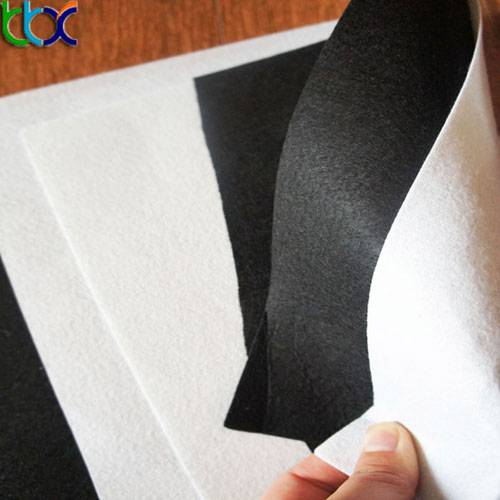 materials used for shoe making Grey white PK nonwoven fabric vamp lining fabric