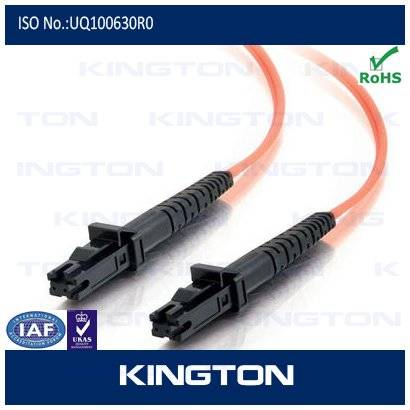 MTRJ fiber optic patch cord