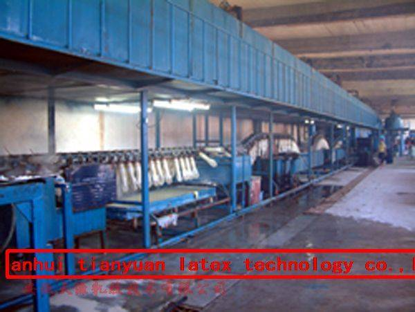 industry gloves dipping machine