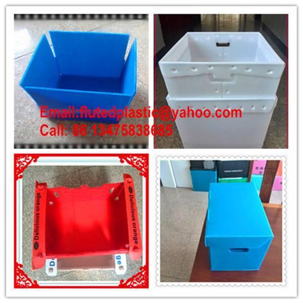 corrugated plastic Corflute box