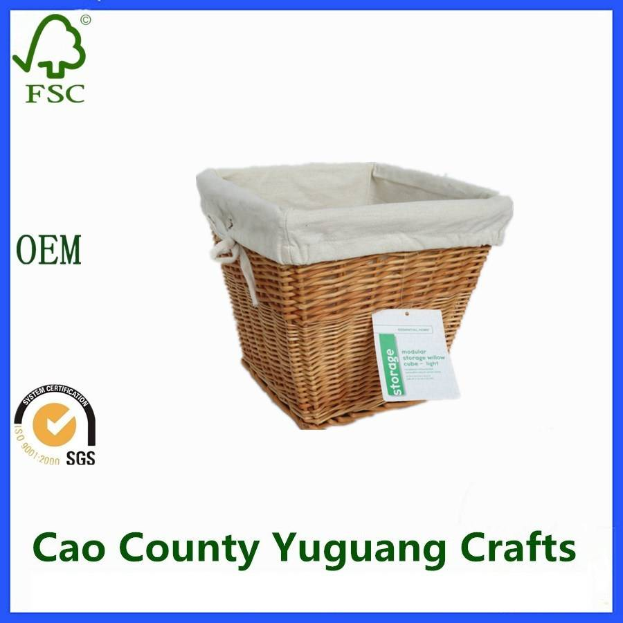 Wicker Craft Storage Willow Basket Factory