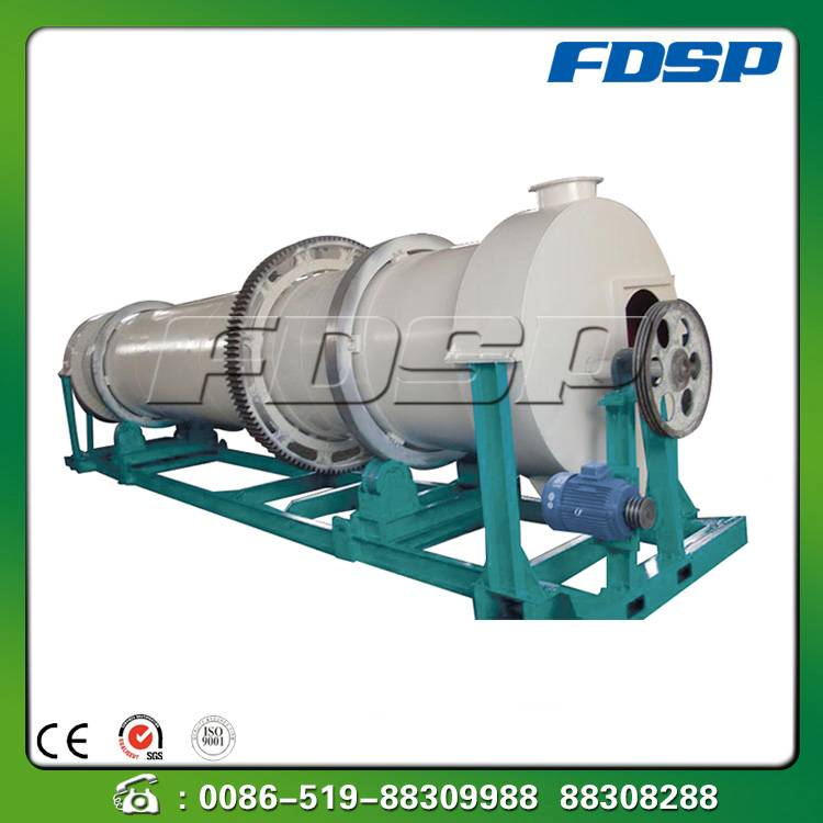 Competitive price three barrel dryer