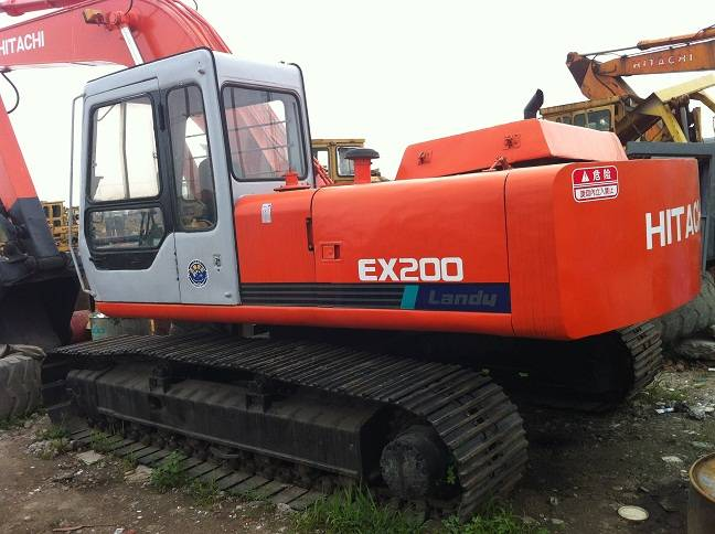 Good Quality EX200-1 hitachi used excavator for sale
