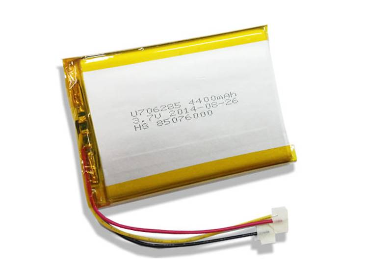 3.7V 4400mah Lipo Rechargeable Battery