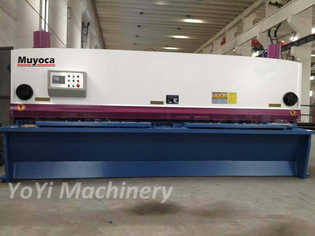 QC11K 8X4000 CNC Hydraulic Guillotine Shearing Machine