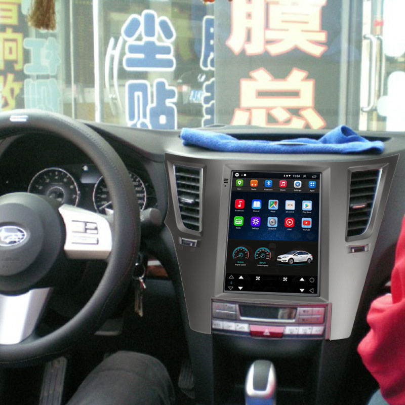 Tesla Style 10.4 Inch Android Car Multimedia Navigation For Subaru Legacy / Outback 2009-2012