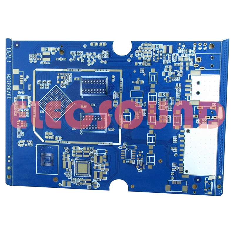 FR-4 low cost half hole wireless wifi router pcb supplier